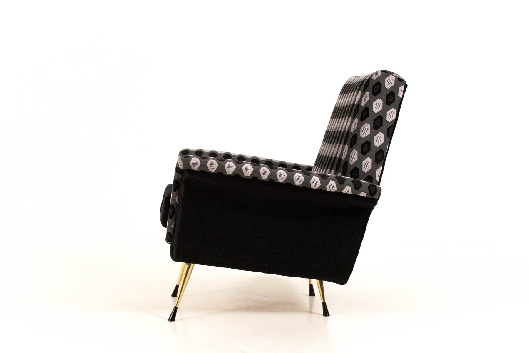 italienische sessel 1960er 2er set bei pamono kaufen. Black Bedroom Furniture Sets. Home Design Ideas