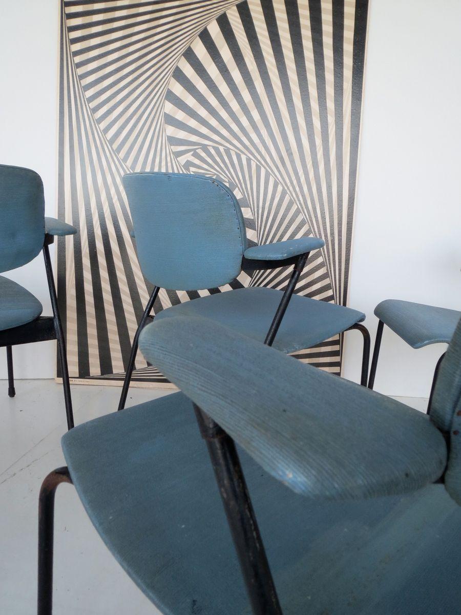 fauteuil vintage minimaliste industriel de tubax belgique en vente sur pamono. Black Bedroom Furniture Sets. Home Design Ideas