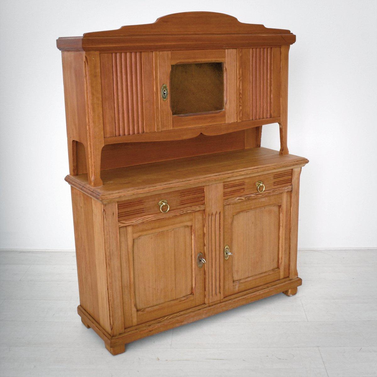 Dispensa da cucina art nouveau in pino anni 39 20 in vendita su pamono - Cucina anni 20 ...