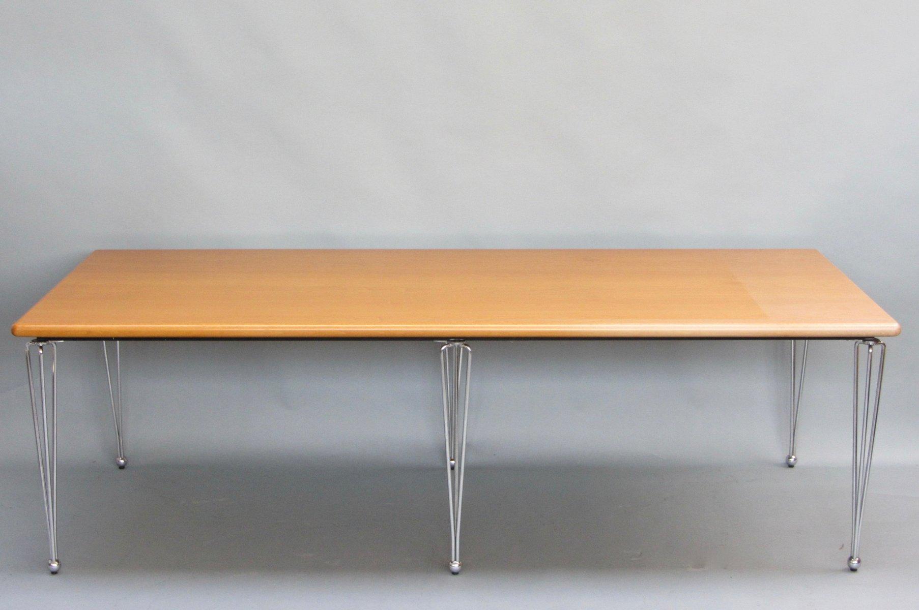 1330 Tisch von Marius van den Wildenberg für Thonet, 1988