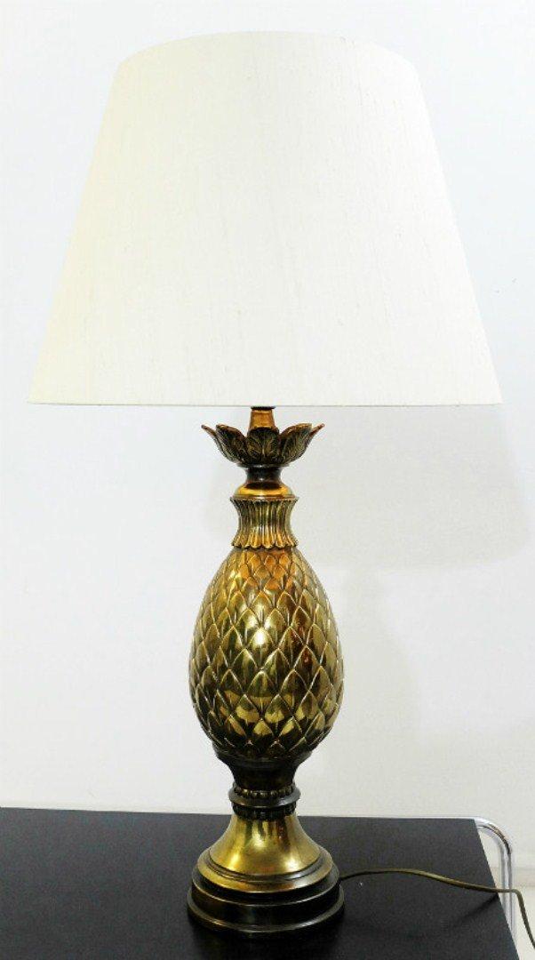 vintage pineapple table lamp for sale at pamono. Black Bedroom Furniture Sets. Home Design Ideas