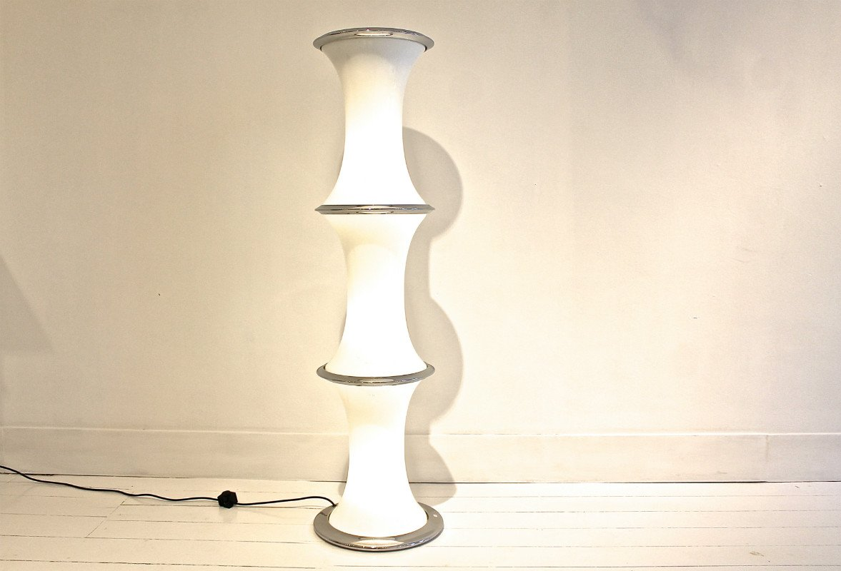 Tronconi Stehlampe von Murano