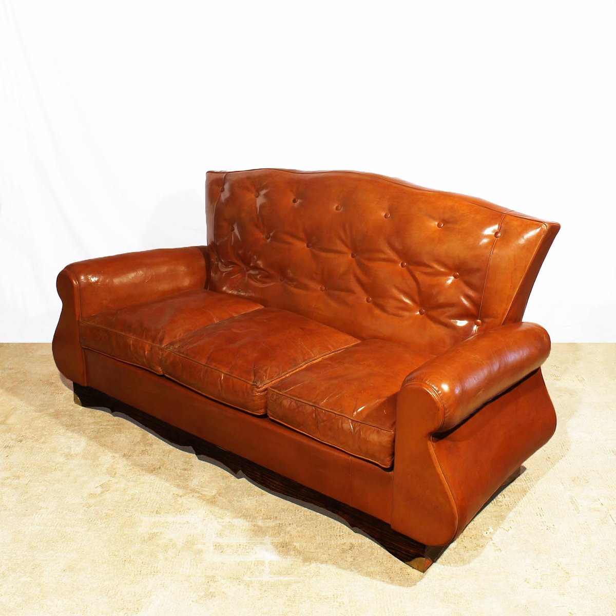 Chesterfield Sofa Price: Chesterfield Style Sofa, 1940s For Sale At Pamono