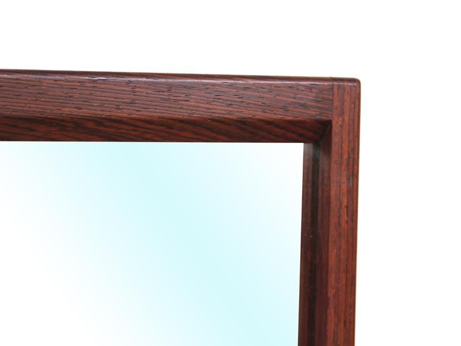 d nischer spiegel mit rahmen aus rio palisander von kai. Black Bedroom Furniture Sets. Home Design Ideas