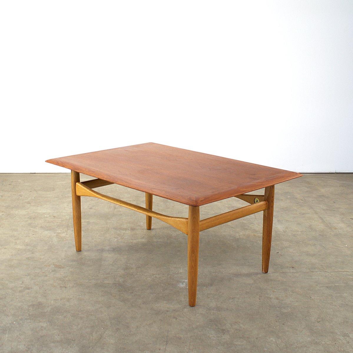 Mesa holandesa de teca y roble de aksel bender madsen para - Mesa de teca ...