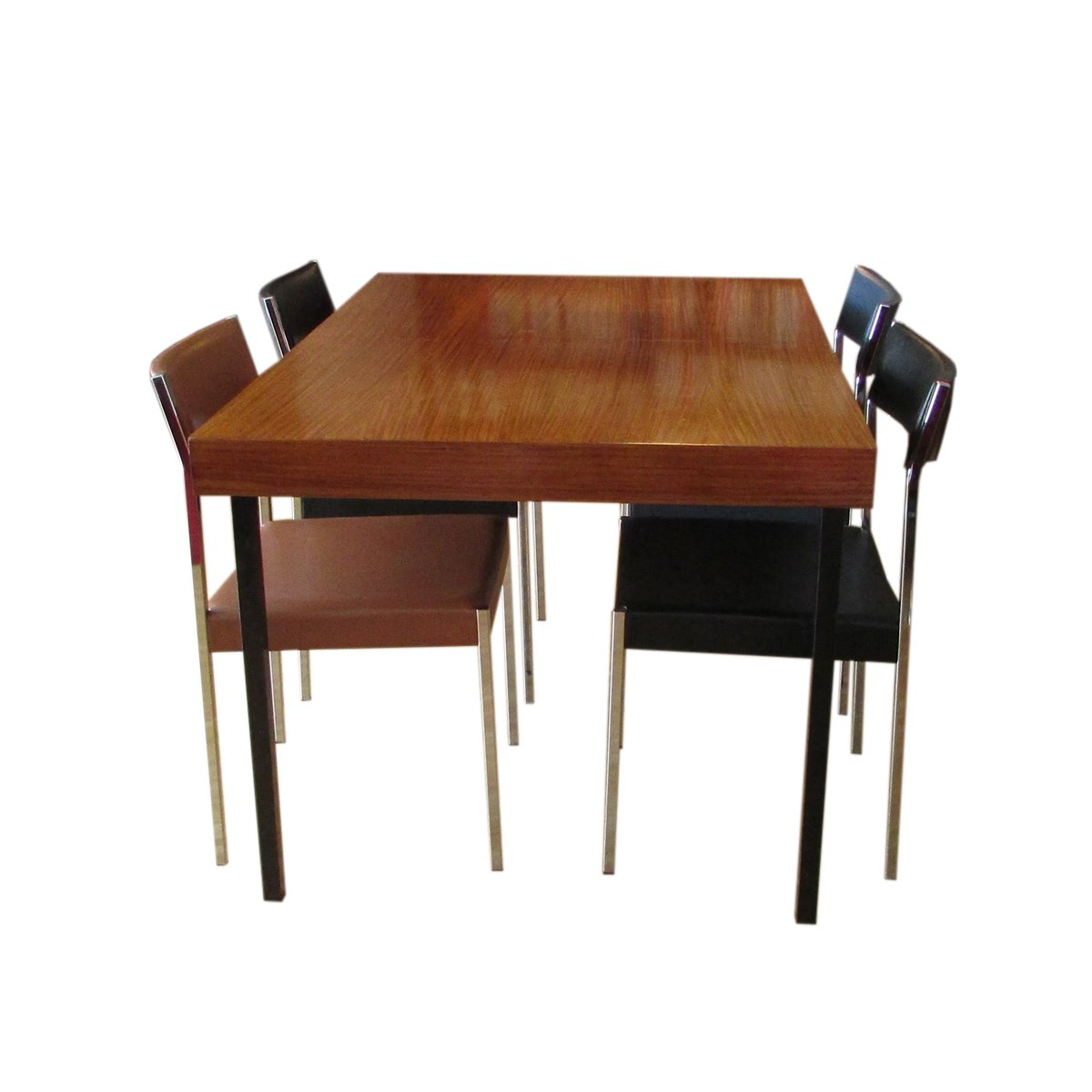 table de salle manger en teck rallonge par dieter w ckerlin pour idealheim en vente sur pamono. Black Bedroom Furniture Sets. Home Design Ideas