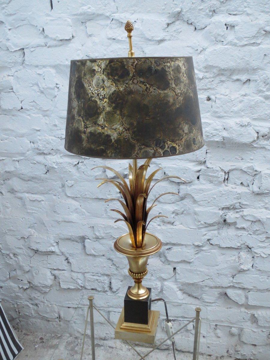 Lampada da tavolo vintage a forma di foglia di palma francia in vendita su pamono - Lampada da tavolo vintage ...