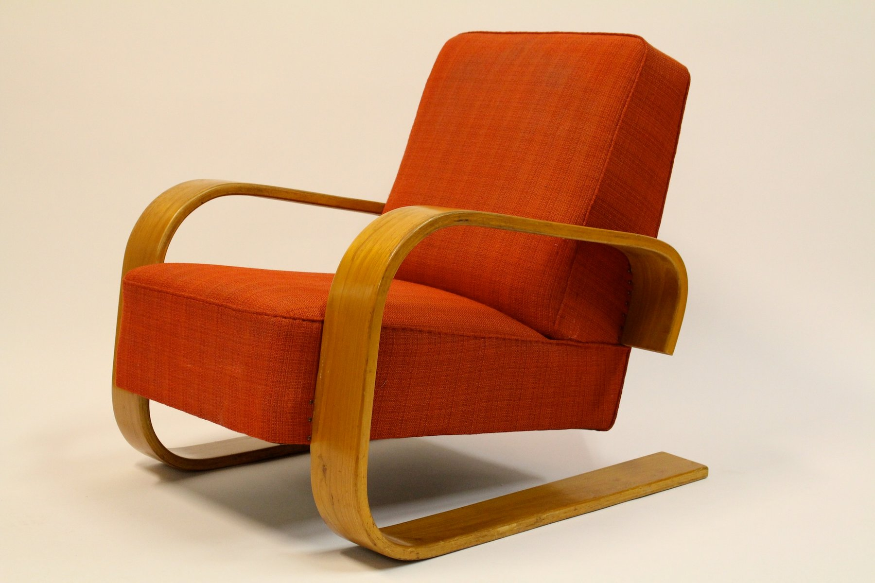 Chaise Modle 400 Par Alvar Aalto Pour Artek 1950s