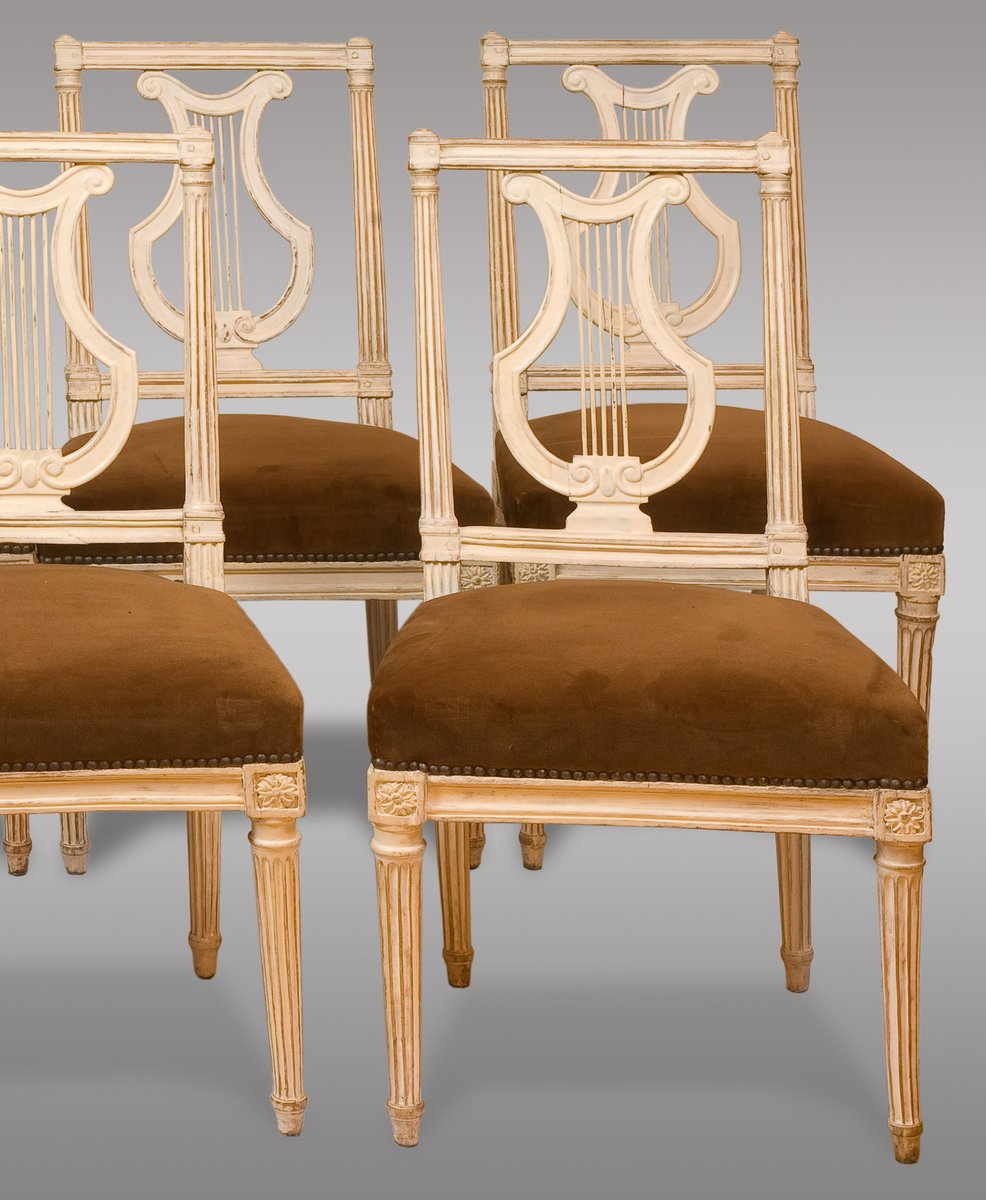 antike louis xvi st hle 1790 8er set bei pamono kaufen. Black Bedroom Furniture Sets. Home Design Ideas
