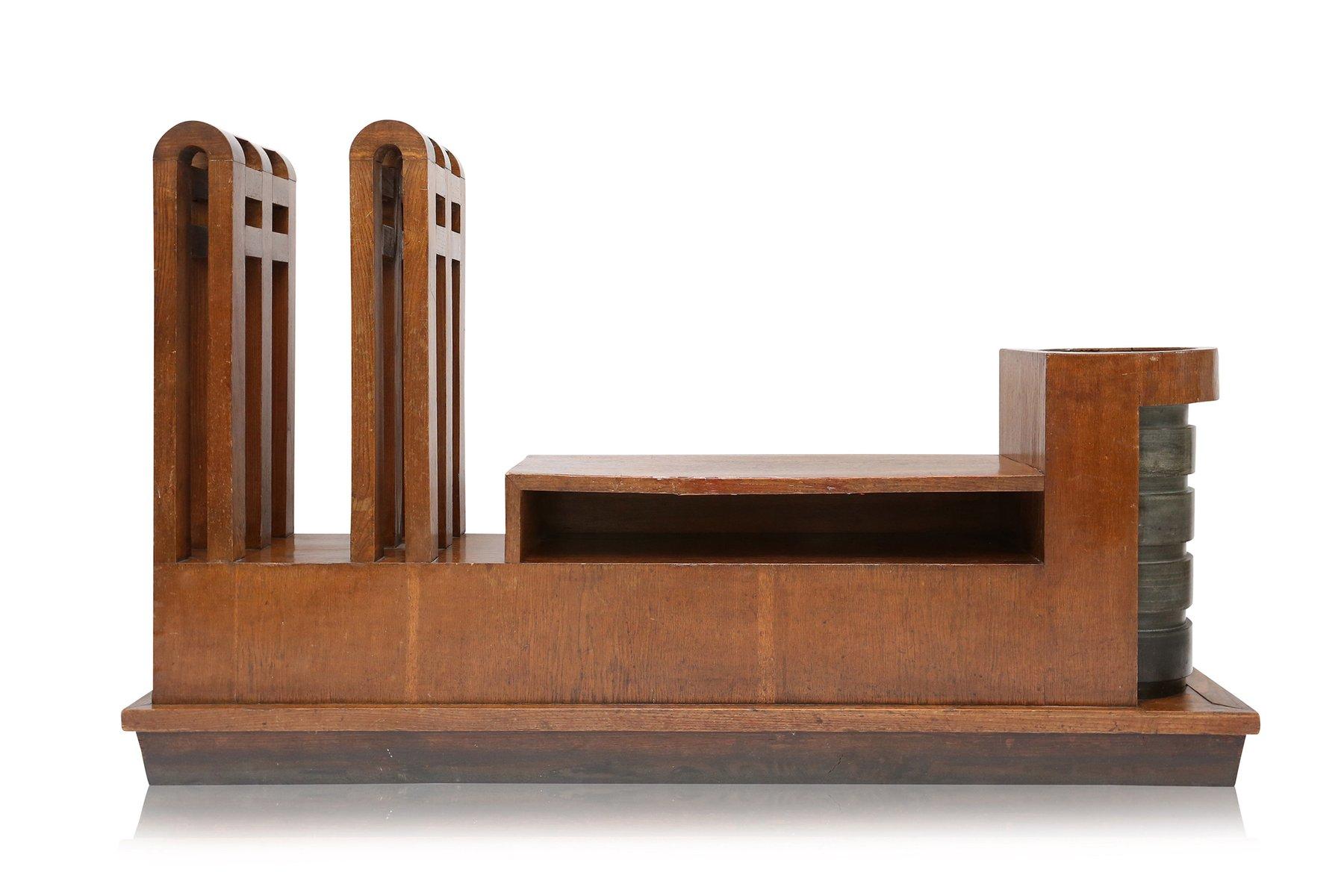 italienische art deco flur anrichte 1910er bei pamono kaufen. Black Bedroom Furniture Sets. Home Design Ideas