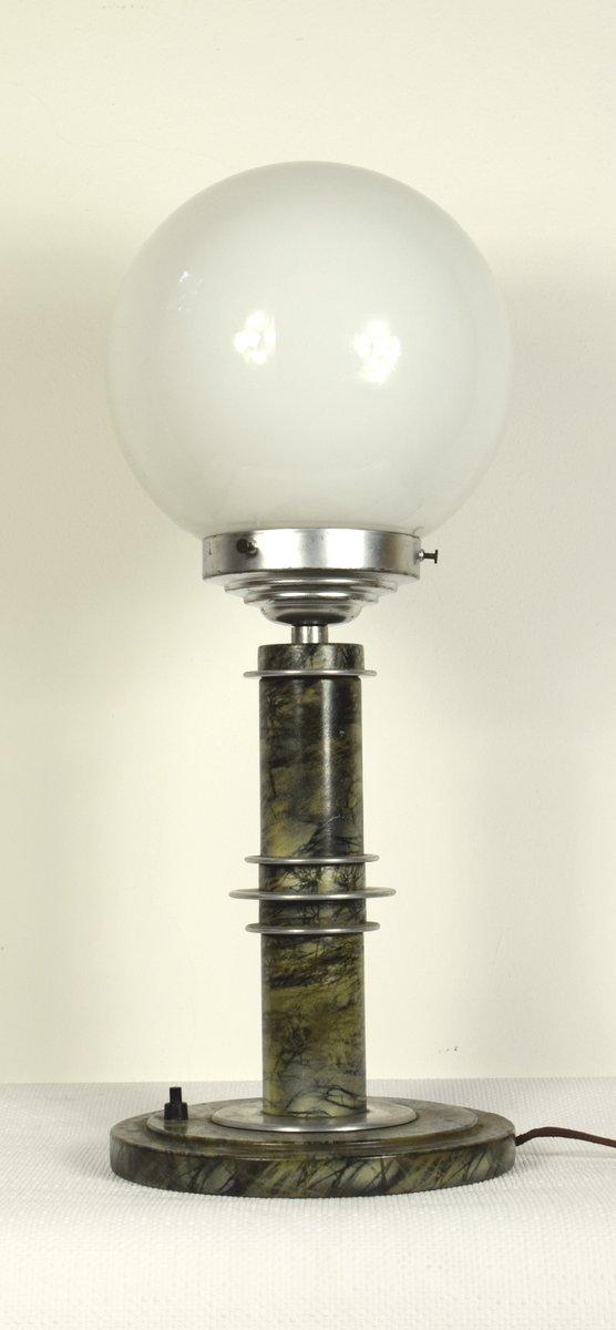 Deutsche Vintage Bauhaus Tischlampe
