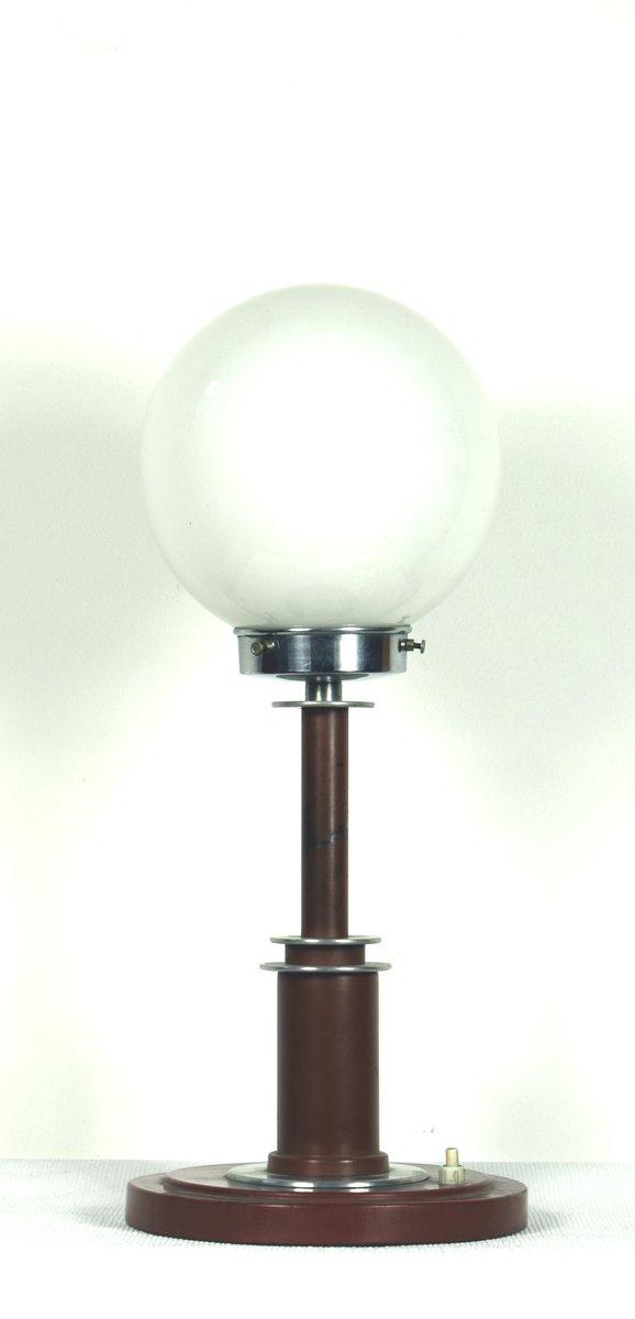 Große Deutsche Bauhaus Tischlampe, 1930er