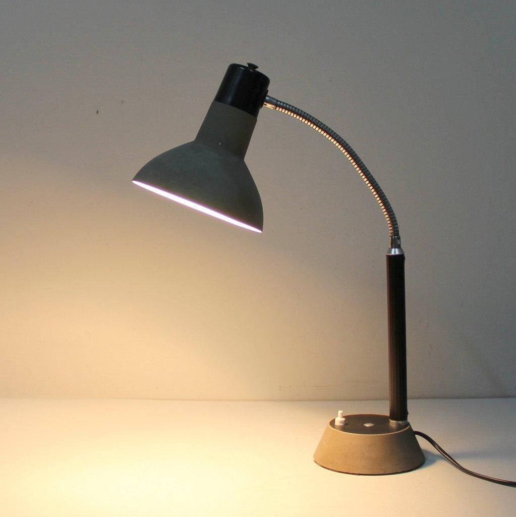 Französische Vintage Tischlampe aus Metall, 1950er