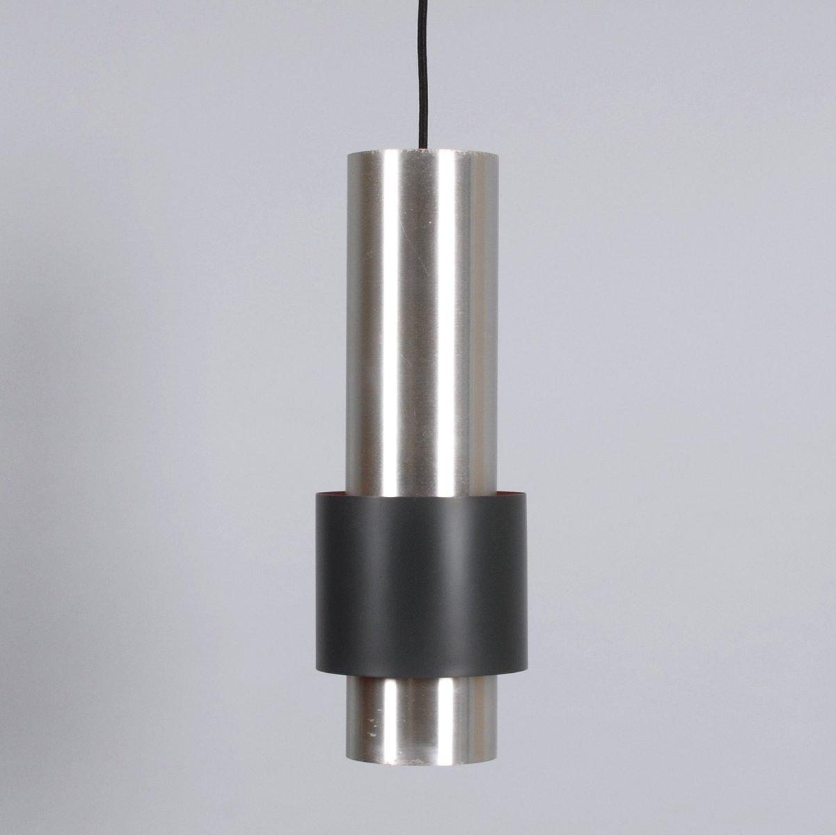 Mid-Century Aluminium Zenith Hängelampe von Jo Hammerborg für Fog & Mø...
