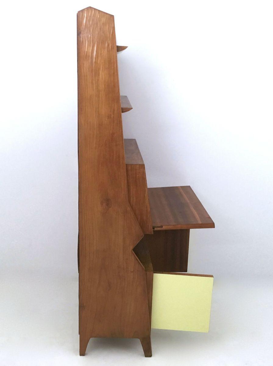meuble de rangement mid century en merisier et en formica 1950s en vente sur pamono. Black Bedroom Furniture Sets. Home Design Ideas