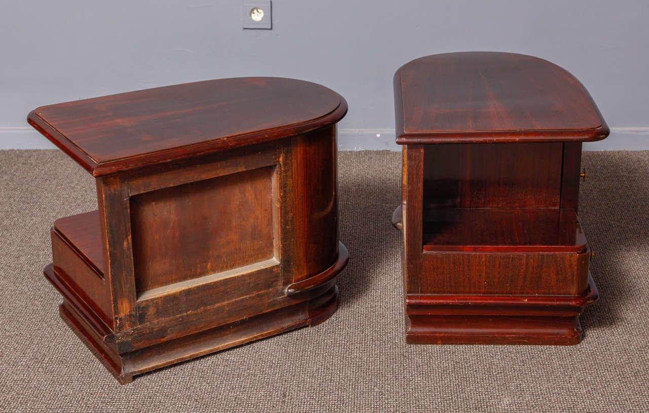 Tables De Chevet Art Deco 1930 Set De 2 En Vente Sur Pamono
