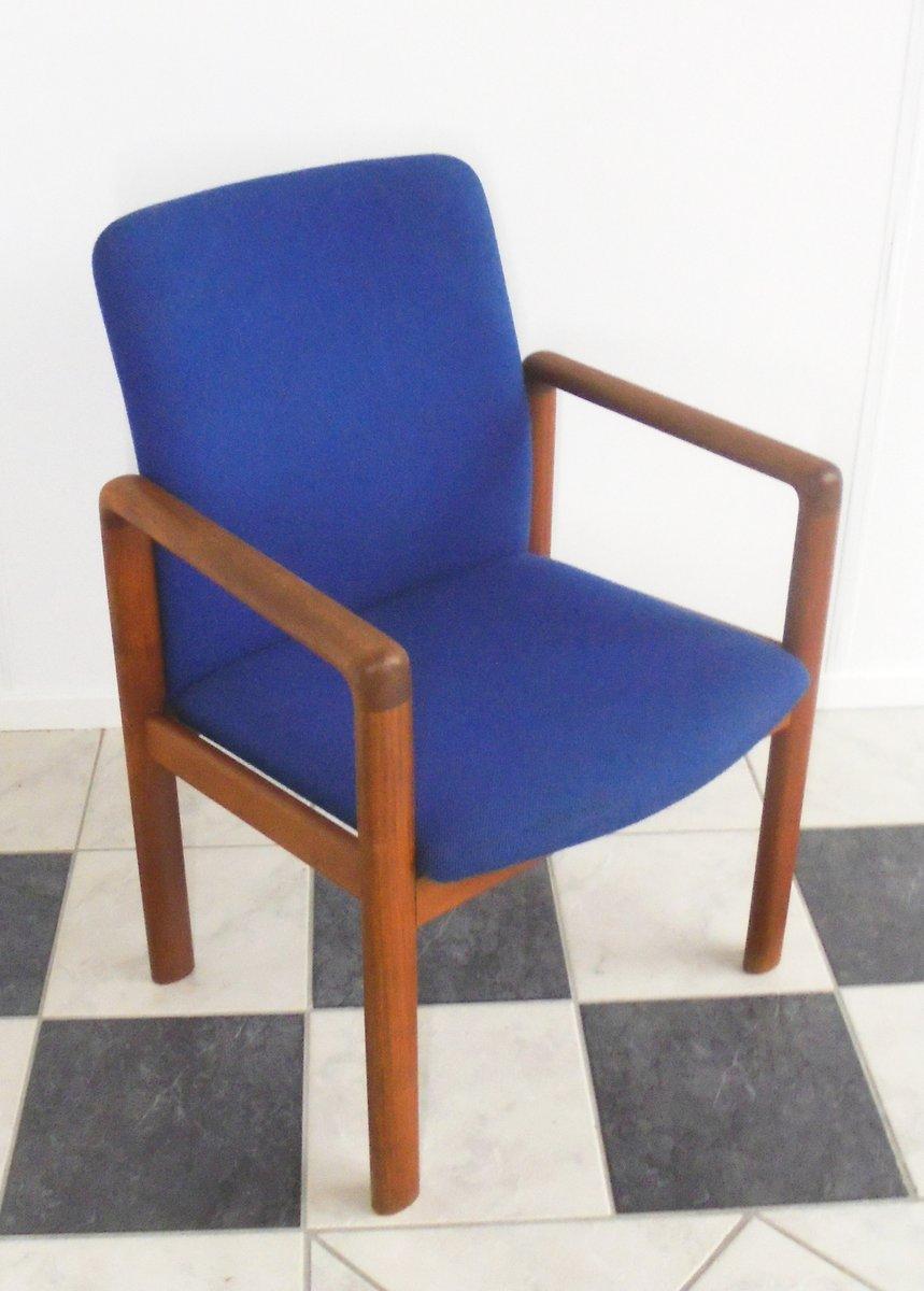 d nischer teak stuhl von schou andersen 1960er bei pamono. Black Bedroom Furniture Sets. Home Design Ideas