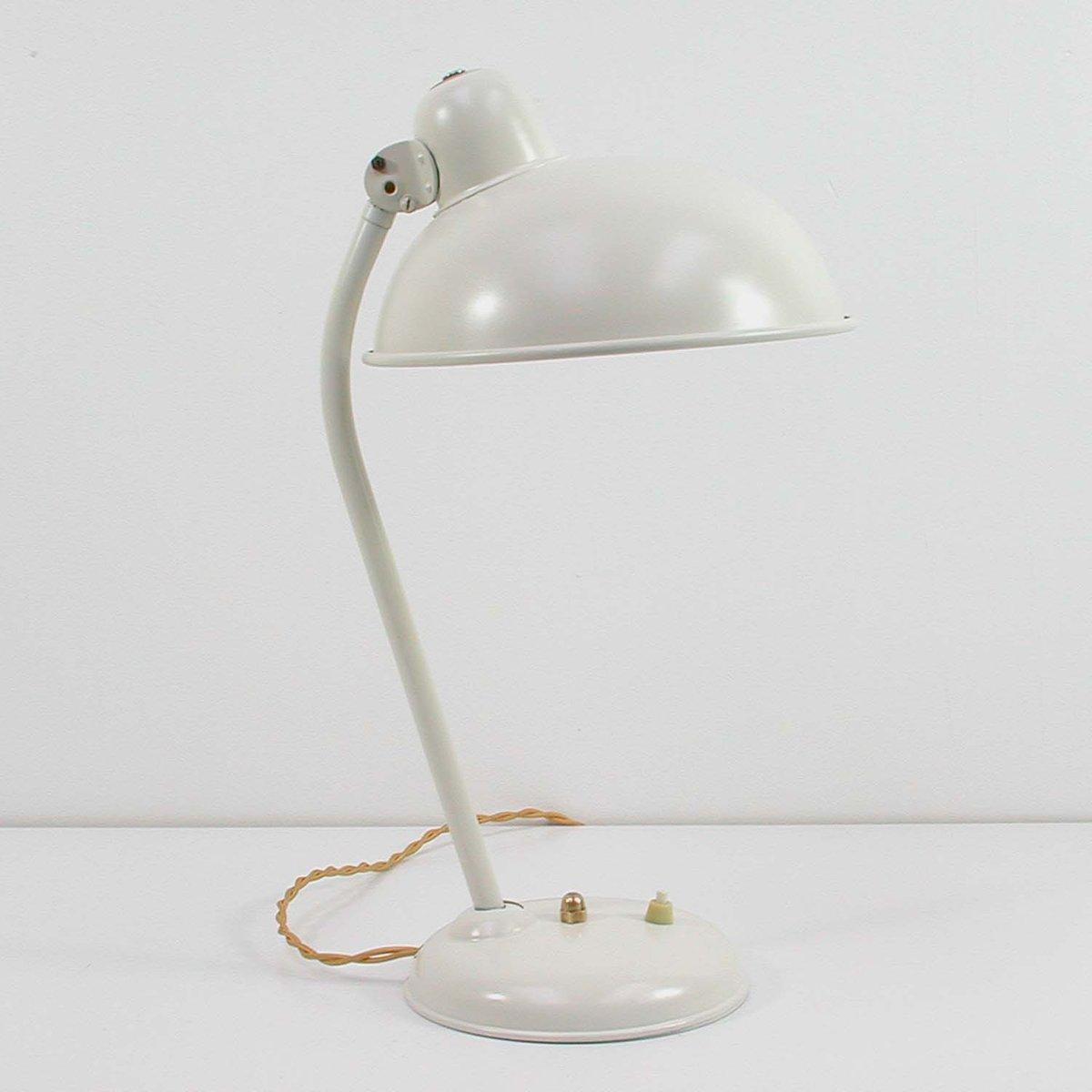Industrielle Bauhaus Vintage Schreibtischlampe von Helo