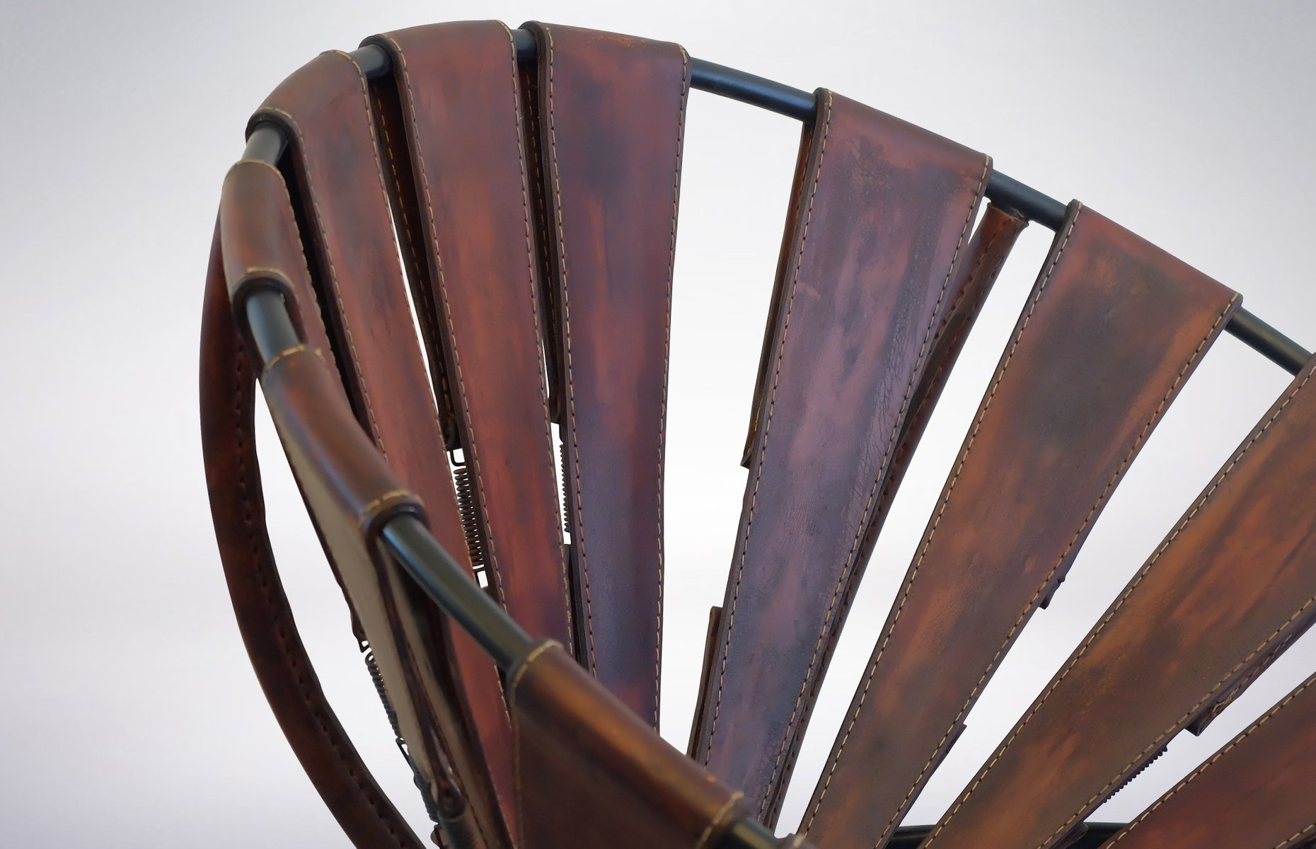 Bowl Chair In Leather By Lina Bo Bardi 1950s For Sale At