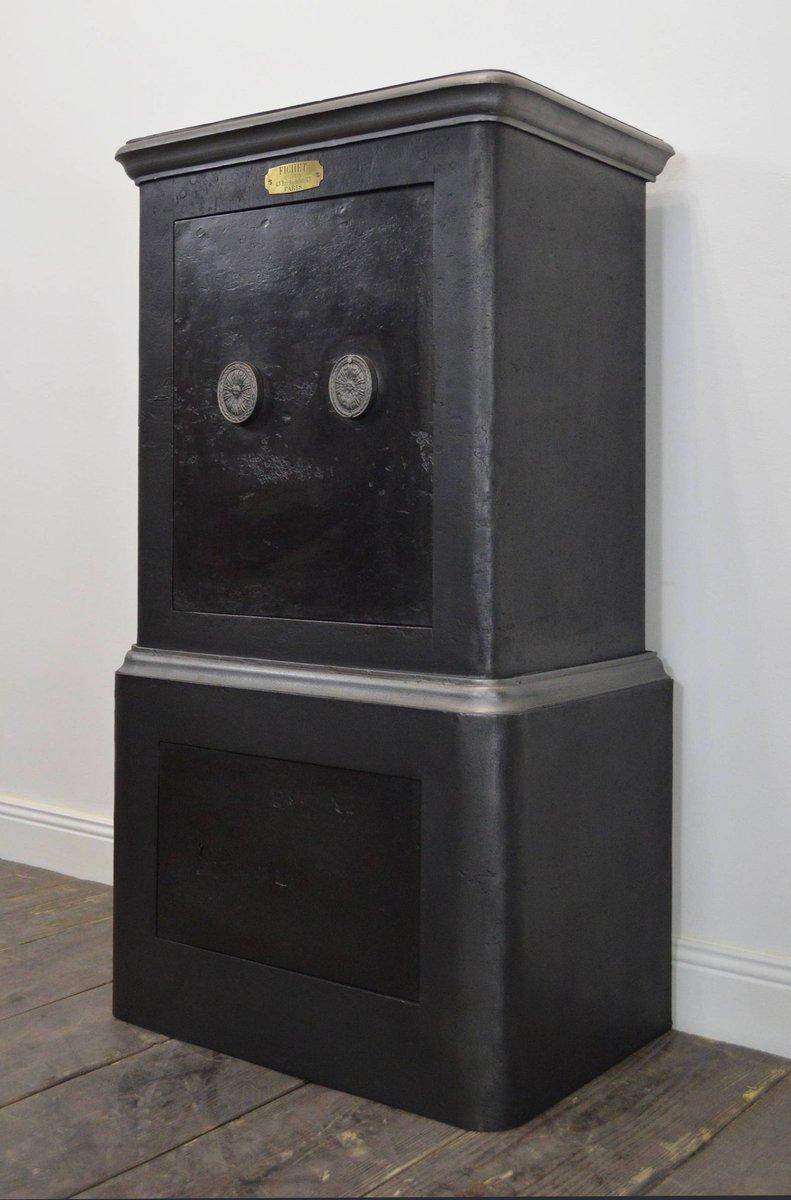 commode vintage en m tal de fichet en vente sur pamono. Black Bedroom Furniture Sets. Home Design Ideas