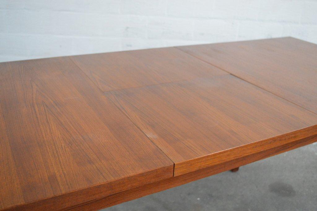 Ausziehbarer Vintage Teakholz Tisch