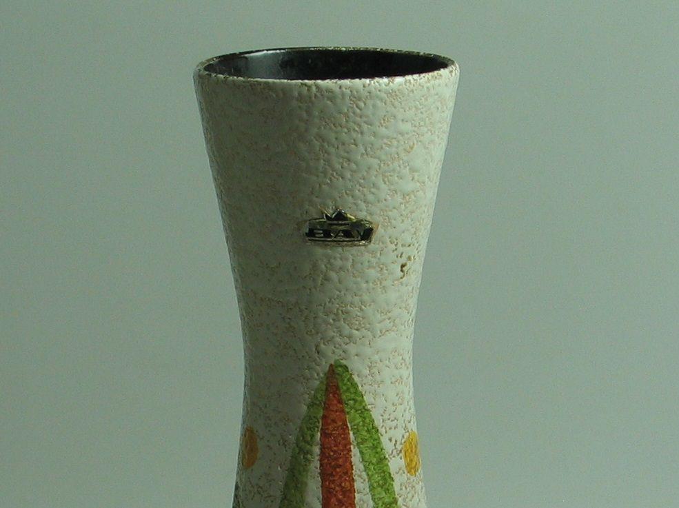 deutsche mid century vase von bay keramik bei pamono kaufen. Black Bedroom Furniture Sets. Home Design Ideas