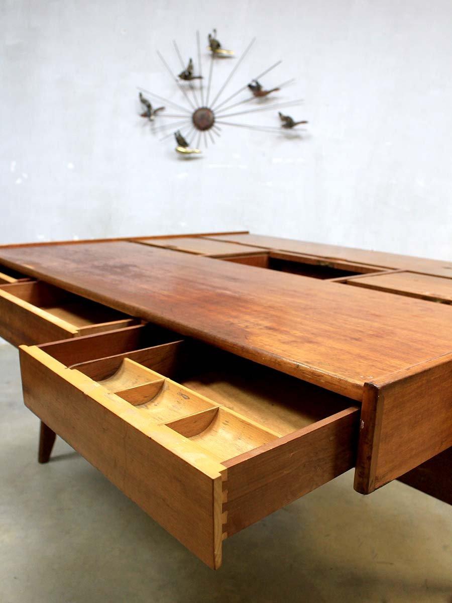 mid century schreibtisch von clausen maerus f r eden bei pamono kaufen. Black Bedroom Furniture Sets. Home Design Ideas