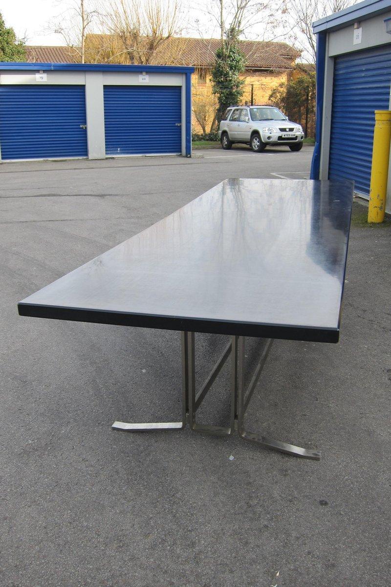 Tr s grande table de salle manger par gianni moscatelli pour formanova italie 1960s en vente - Tres grande table salle a manger ...