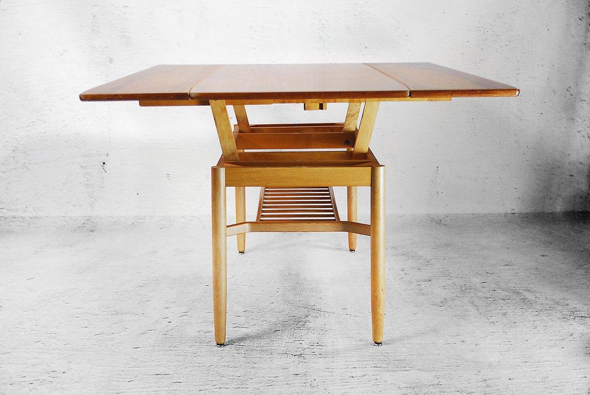 swedish folding table by folke ohlsson for tingstr ms bra bohag 1950s for sale at pamono. Black Bedroom Furniture Sets. Home Design Ideas