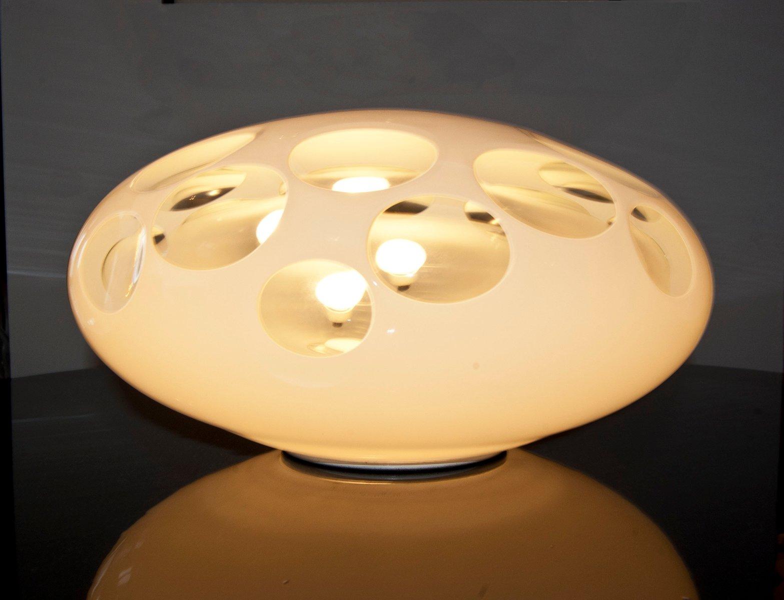Italienische Tischlampe von A.V. Mazzega, 1970er