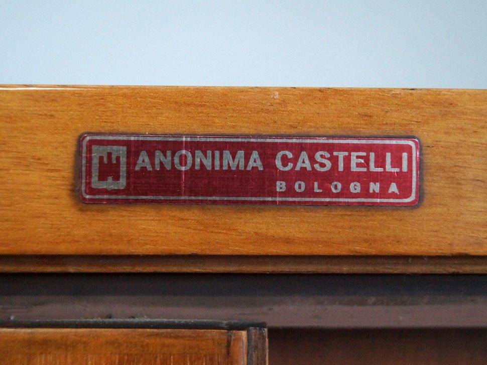 La Credenza En Italiano : Credenza antica periodo cappuccino italiana in noce prima metà