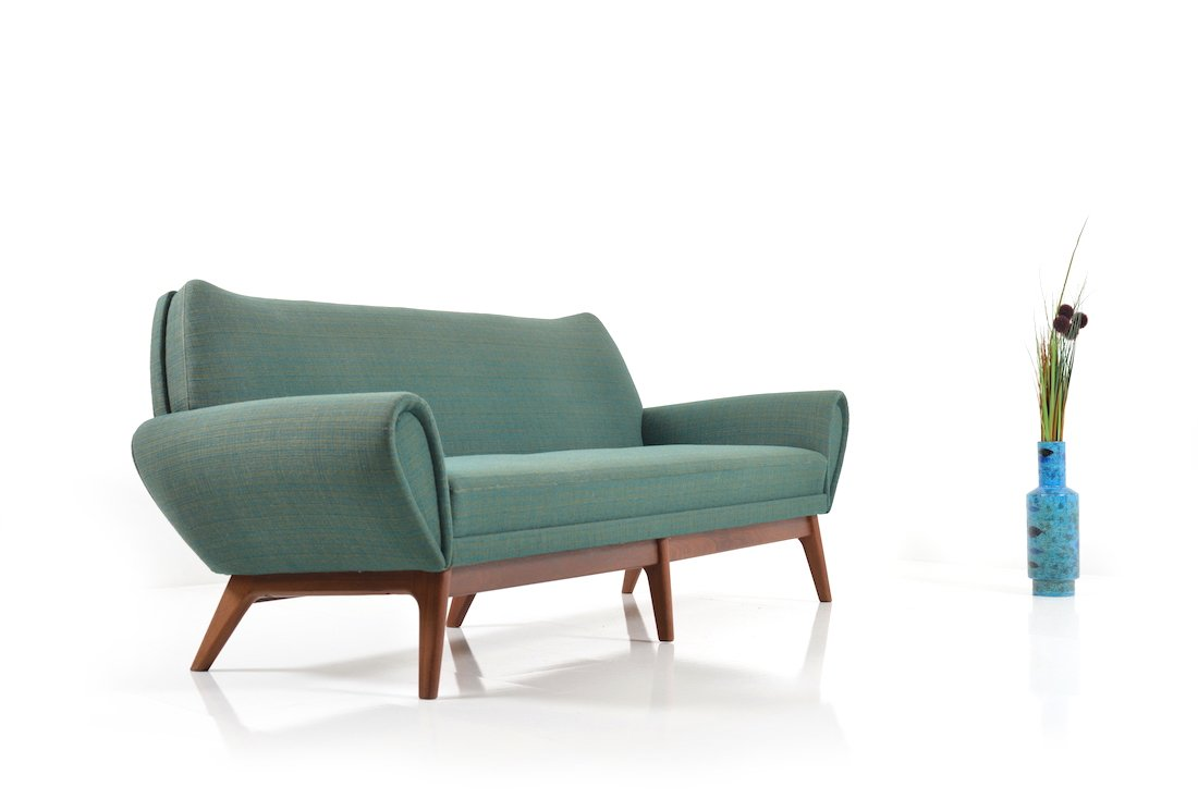 d nisches 3 sitzer sofa von kurt stervig 1960er bei pamono kaufen. Black Bedroom Furniture Sets. Home Design Ideas