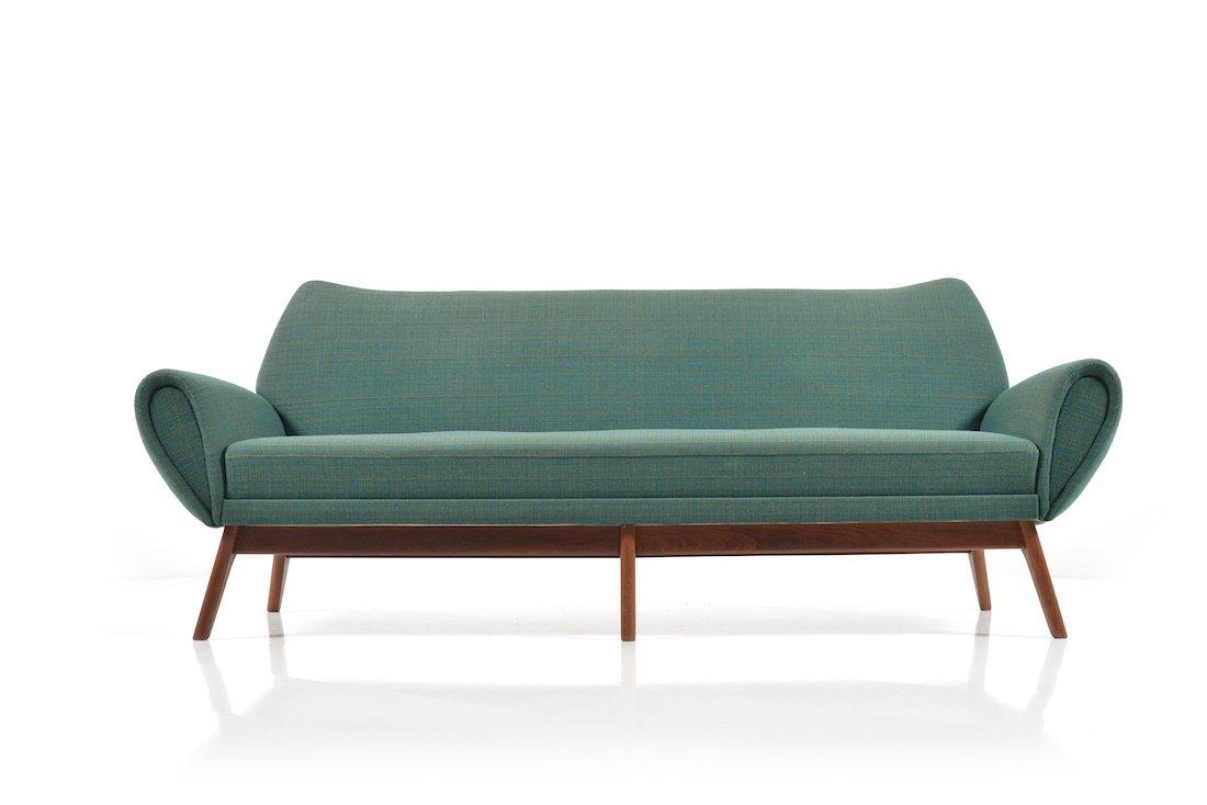 d nisches sofa mit drei sitzen von kurt stervig 1960er bei pamono kaufen. Black Bedroom Furniture Sets. Home Design Ideas