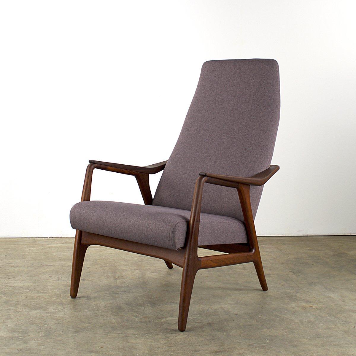 mid century teakholz sessel 1960er bei pamono kaufen. Black Bedroom Furniture Sets. Home Design Ideas