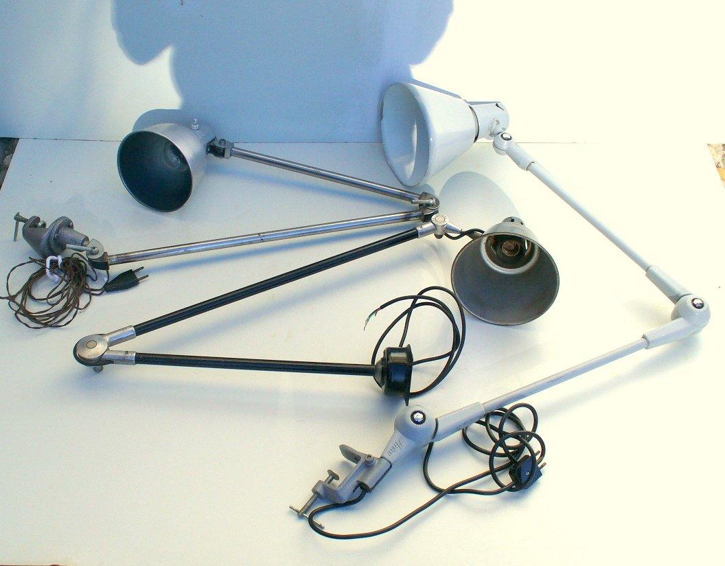 Industrie Tischlampen, 3er Set