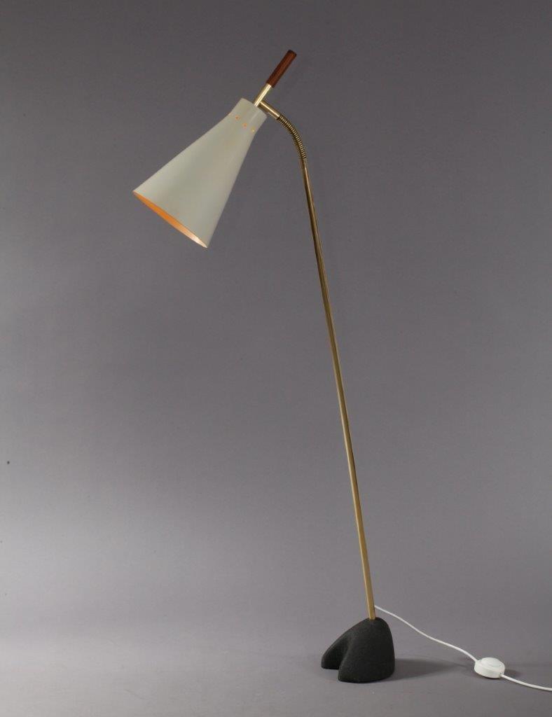 Wiener Stehlampe von Carl Aubo?ck, 1950er