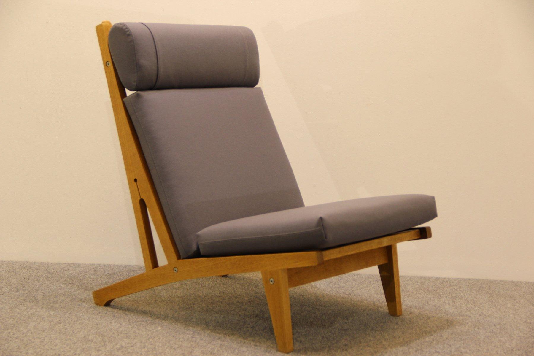 d nischer sessel aus eiche von hans j wegner f r getama 1960er bei pamono kaufen. Black Bedroom Furniture Sets. Home Design Ideas