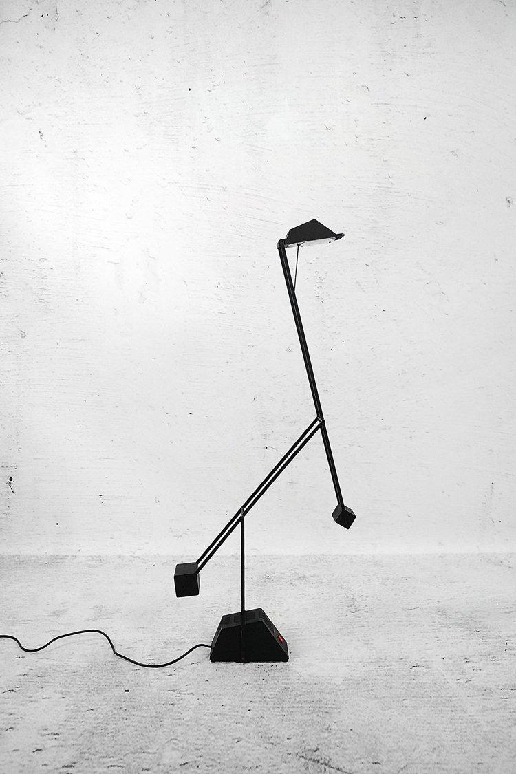 Verstellbare Deutsche Lampe von Haustadt Leuchten, 1980er