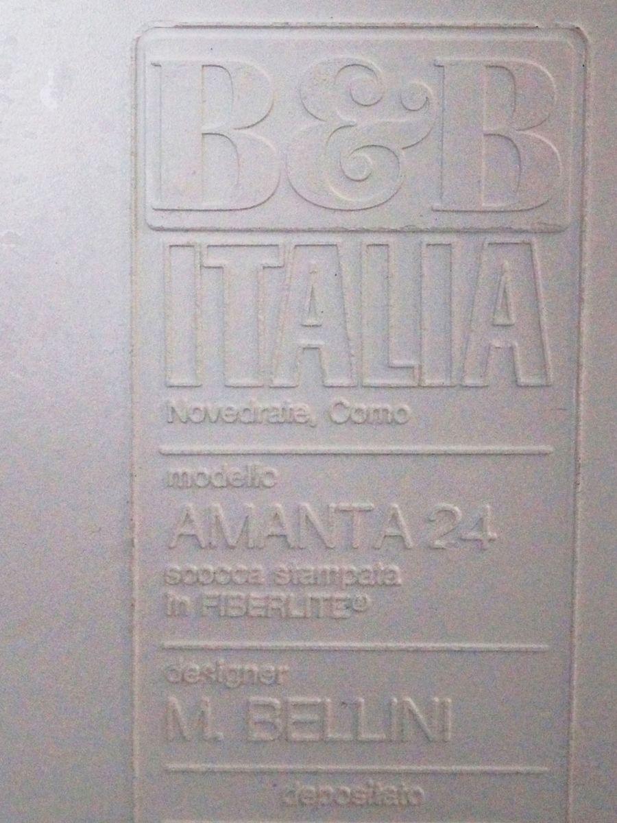 amanta ledersofa element von mario bellini f r b b italia 1966 bei pamono kaufen. Black Bedroom Furniture Sets. Home Design Ideas