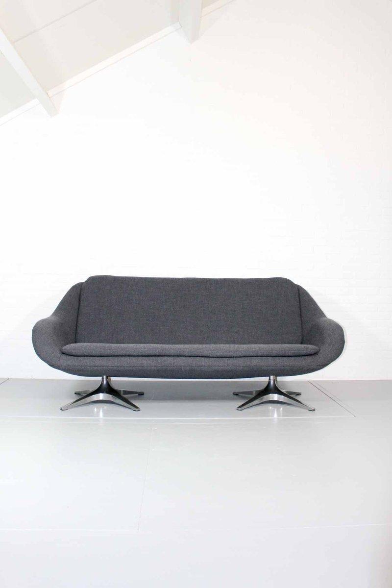 2 5 sitzer sofa in grau von roh noordwolde bei pamono kaufen. Black Bedroom Furniture Sets. Home Design Ideas