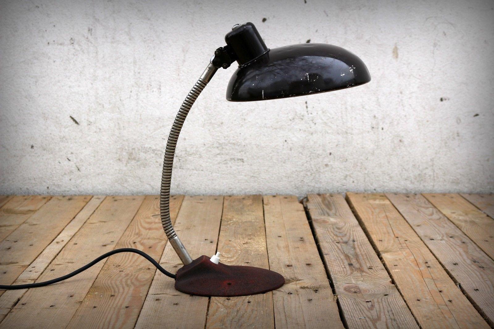 Ungarische Vintage Tischlampe von Szarvasi