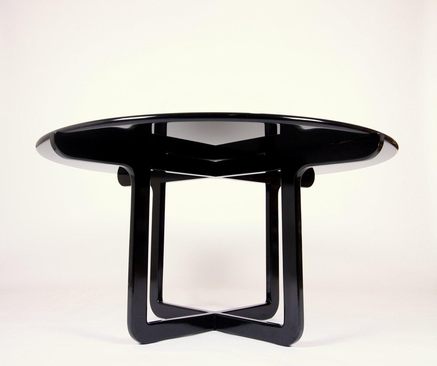 deutscher limitierter siebdruck tisch mit sechs st hlen von bjorn wiinblad f r rosenthal 1976. Black Bedroom Furniture Sets. Home Design Ideas