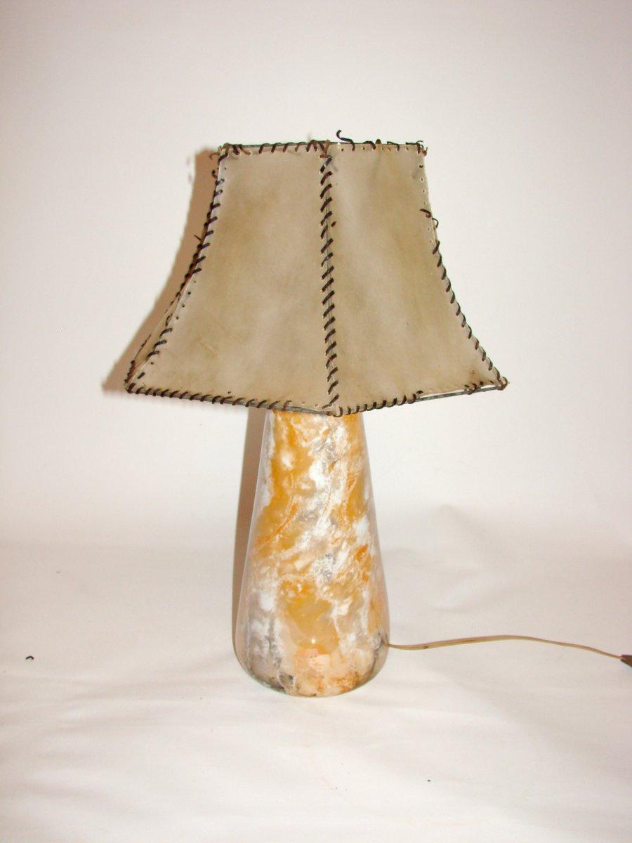 Vintage Keramiklampe von Arabia