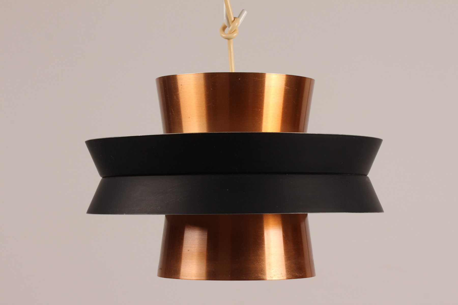 Kupfer Hängelampe von Carl Thore für Granhaga Metallindustri