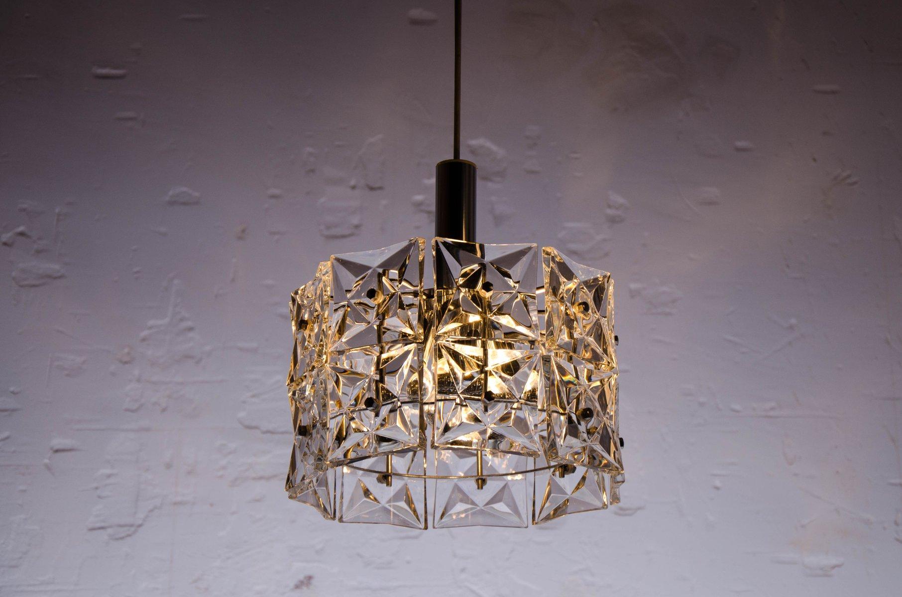Vintage geometric crystal prism chandelier from kinkeldey for sale 87500 aloadofball Gallery