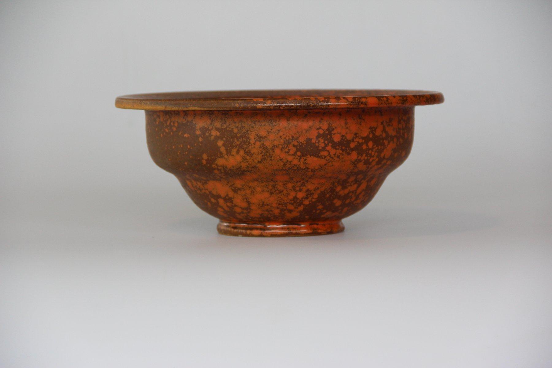Vintage Keramik Schüssel von Kähler bei Pamono kaufen