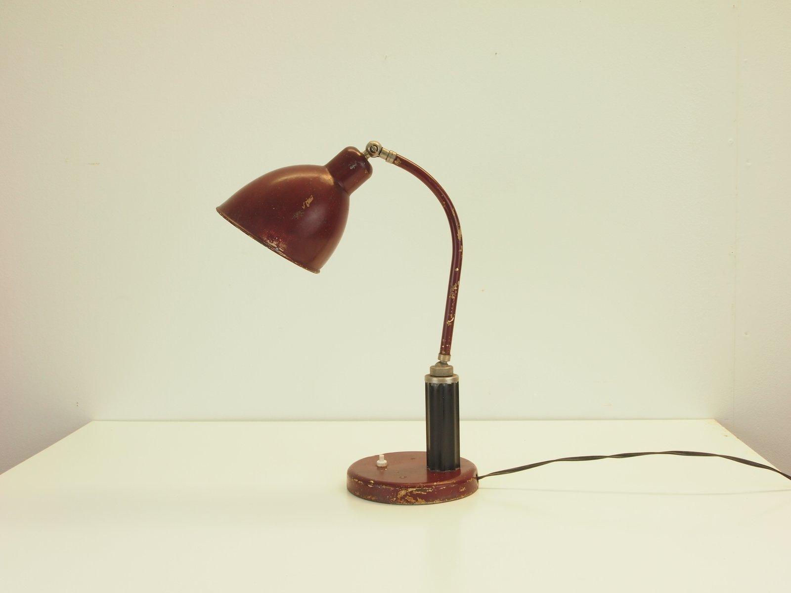 Vintage Molitor Grapholux Schreibtischlampe von Christian Dell für Mol...