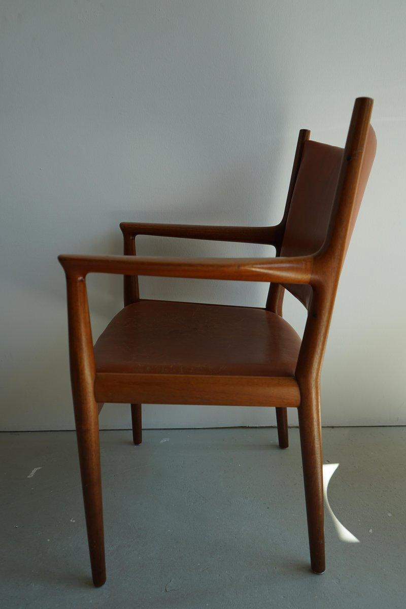 mid century jh 713 stuhl von hans wegner f r johannes hansen bei pamono kaufen. Black Bedroom Furniture Sets. Home Design Ideas