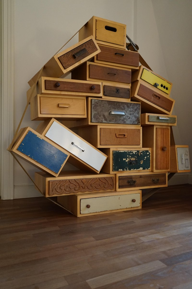 reputable site 46669 287f8 Piece No. 3 You Can't Lay Down Your Memory Chest of Drawers by Tejo Remy  for Droog, 1991 The Exceptional