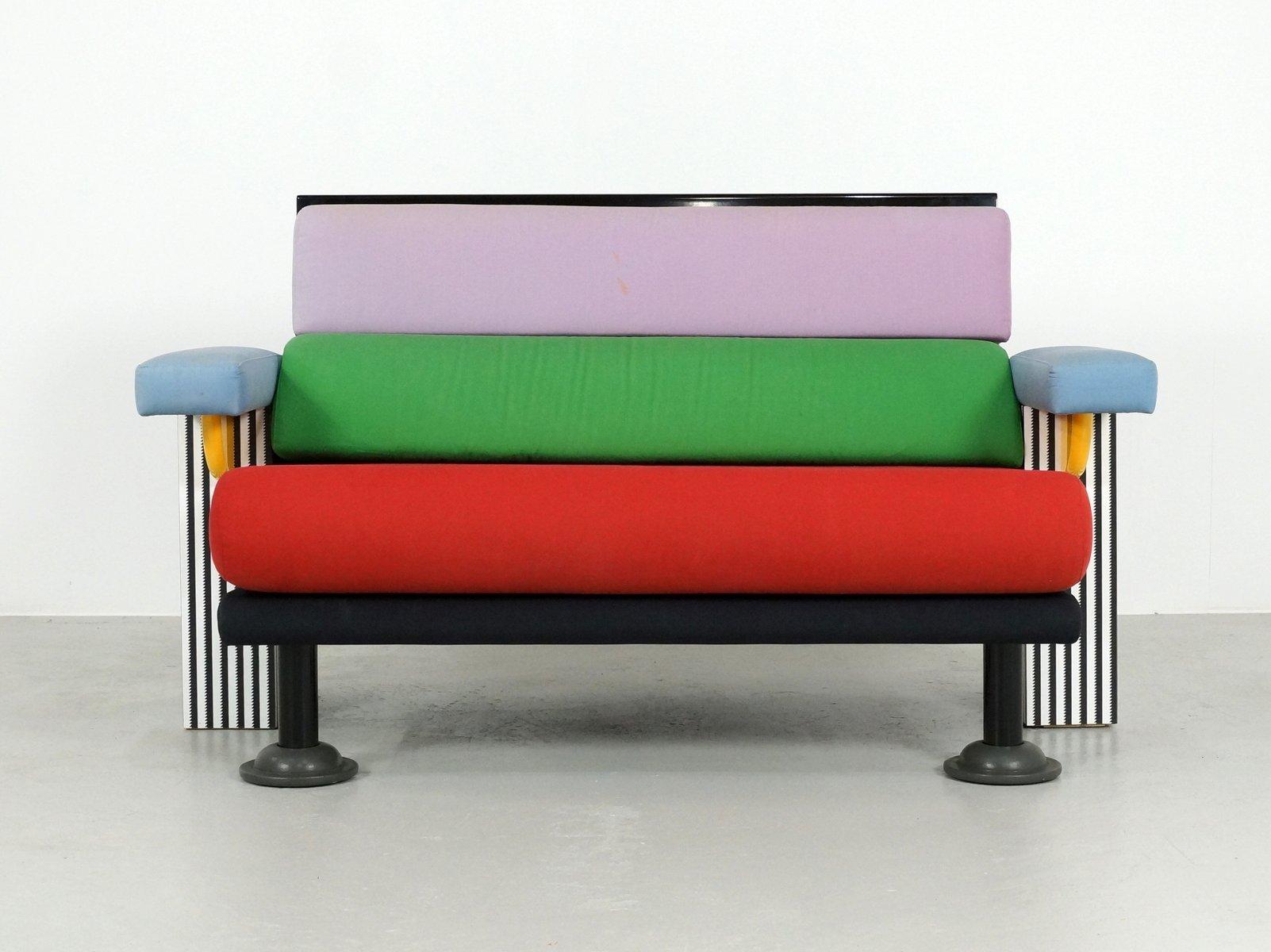Lido Sofa By Michele De Lucchi For Memphis 1982